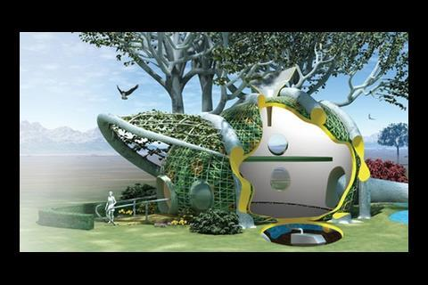 Terreform tree house
